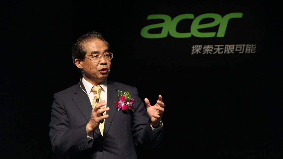Acer发布会现场图片直击