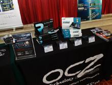OCZ产品在比赛现场展示