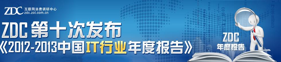 ZDC第十次发布 《2012-2013中国IT行业年度报告》